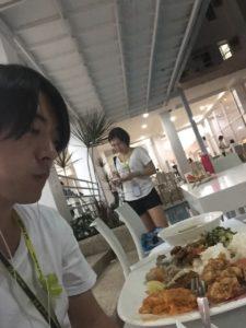 フィリピン英語留学の時の夜ご飯
